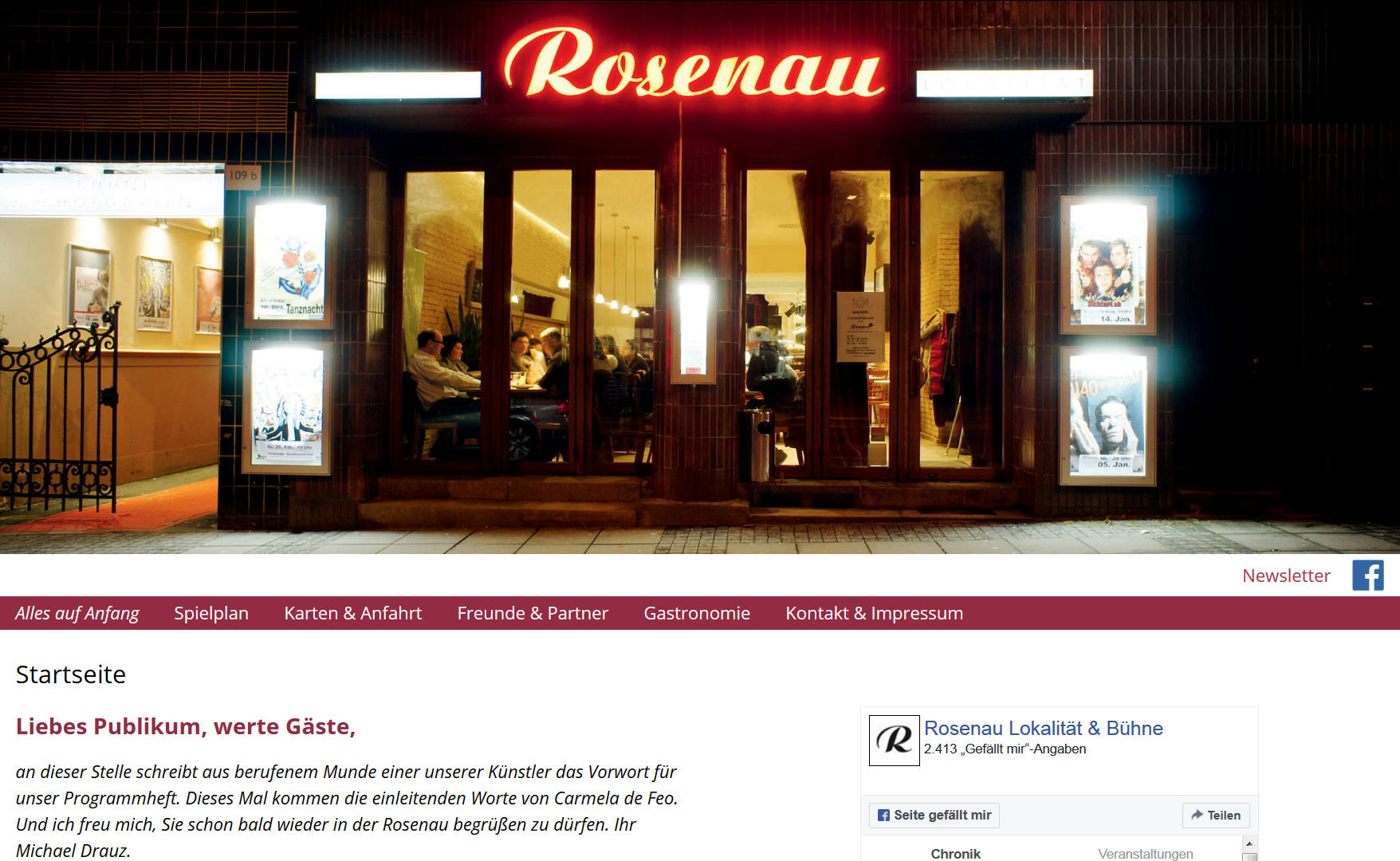 Rosenau Tanznacht